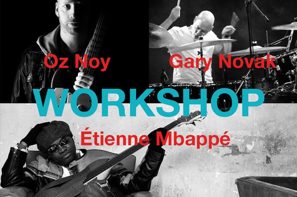 Oz Noy, Gary Novak, Etienne Mbappe