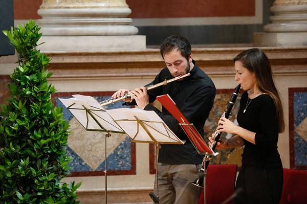 Alessandro Baticci und Caroline Wuest
