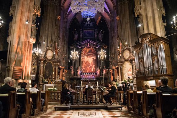 Musik zum Abend und zur Nacht im Stephansdom Wien