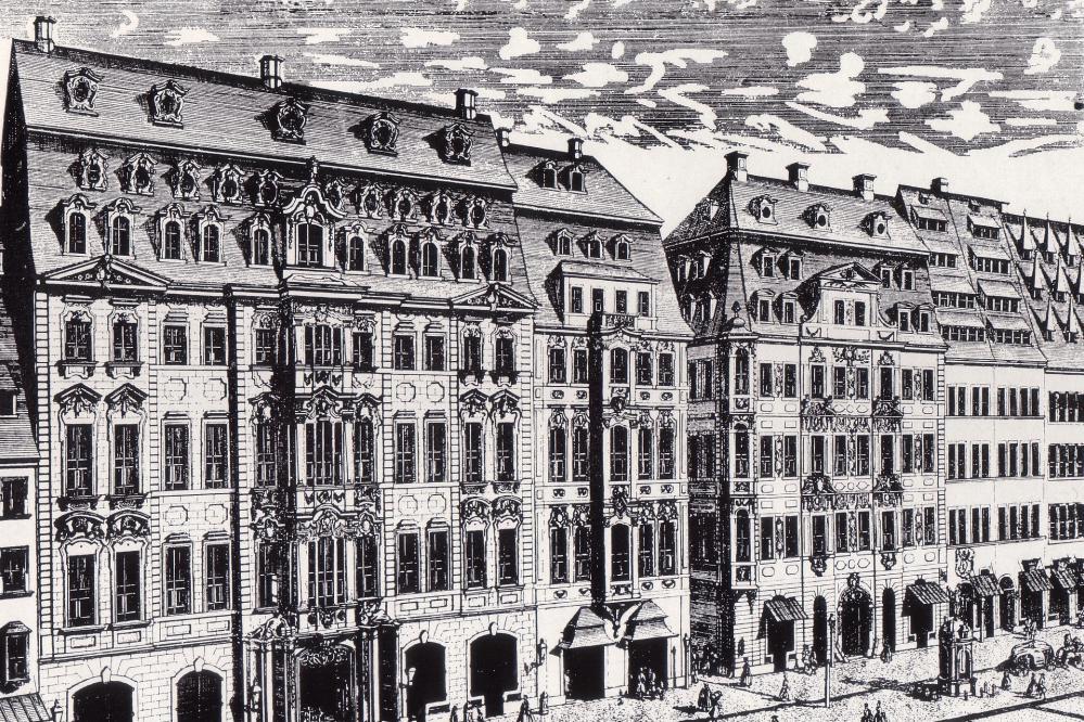 © von Heied, Künstler des Stichs: Johann Georg Schreiber (1676 – 1750)